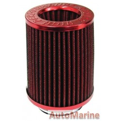 Long Air FIlter Red/Red
