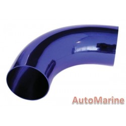 Induction Pipe - 90 Degree - Blue