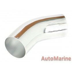Induction Pipe - 45 Degree - Chrome