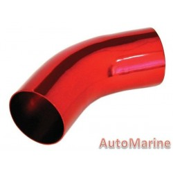 Induction Pipe - 45 Degree - Red