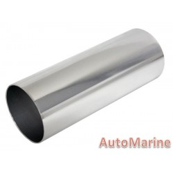 Induction Pipe - Straight - Chrome