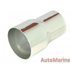 Induction Pipe Reducer - Chrome