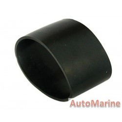 Rubber Joining Sleeve - Straight - Black