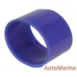 Rubber Joining Sleeve - Straight - Blue