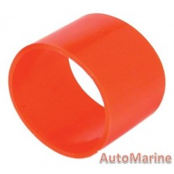 Rubber Joining Sleeve - Straight - Red