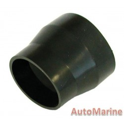 Rubber Joining Reducing Sleeve - Black