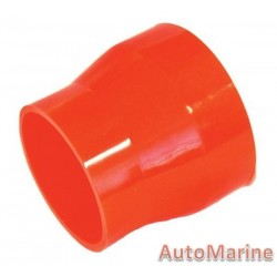 Rubber Joining Reducing Sleeve - Red