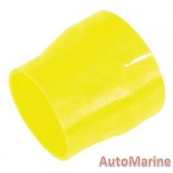 Rubber Joining Reducing Sleeve - Yellow