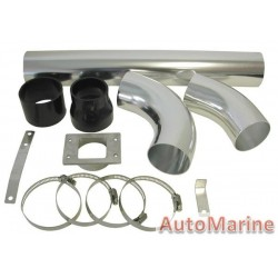 Air Filter Induction Pipe Kit for Fuel Injected Vehicles