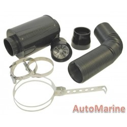 Air Filter Pipe Kit for Fuel Injected Vehicles - 7 Piece