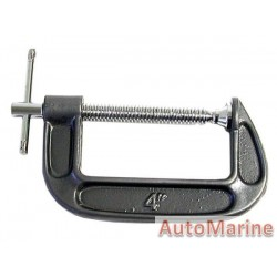 G Clamp - 100mm - Heavy Duty
