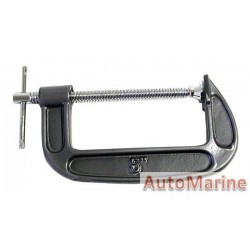 G Clamp - 125mm - Heavy Duty
