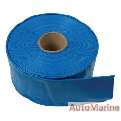 PVC Flat Hose - Blue - 38.1mm x 20m