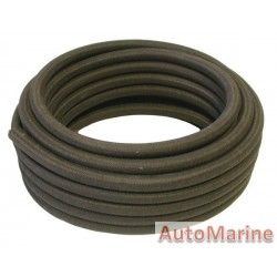 Cotton Braided Fuel Hose - 10mm x 15m