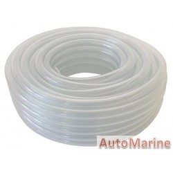 Clear PVC Hose - 6mm x 20m