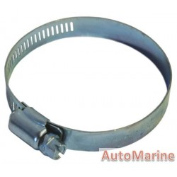 Galvanised Hose Clamp - 59 to 82mm