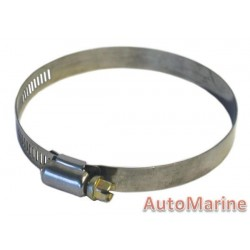 Stainless Steel Band Hose Clamp - 105 to 127mm