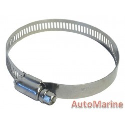 All Stainless Steel Hose Clamp - 33 to 57mm