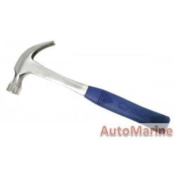 Claw Hammer - 16oz - Solid Steel