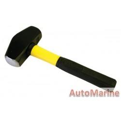 Club Hammer - 2kg - Fibreglass Handle