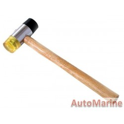Rubber Mallet with Plastic Hammer - 35mm