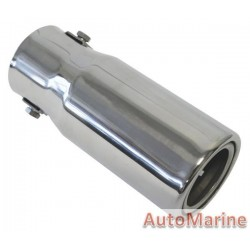 Exhaust Tail Piece - 50mm Inlet