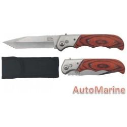 Knife - Folding - 10cm Blade Length