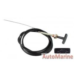 Bonnet Cable - 108 inch
