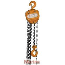 Chain Block - 2 Ton - 3m Chain