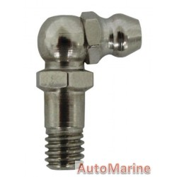 Grease Nipple - 6mm x 1mm - 90 Degree