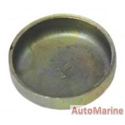"""Welch Plug - Zinc Plated - 1"""" (25.4mm)"""