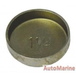 """Welch Plug - Zinc Plated - 1.25"""" (31.75mm)"""
