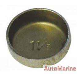 """Welch Plug - Zinc Plated - 1.125"""" (28.58mm)"""