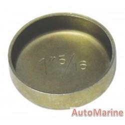 """Welch Plug - Zinc Plated - 1.3125"""" (33.33mm)"""