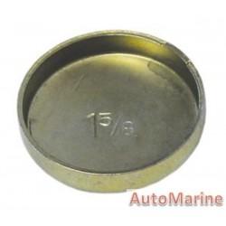 """Welch Plug - Zinc Plated - 1.625"""" (41.27mm)"""