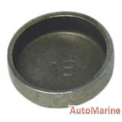 Welch Plug - Zinc Plated - 18mm