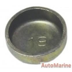 Welch Plug - Zinc Plated - 19mm
