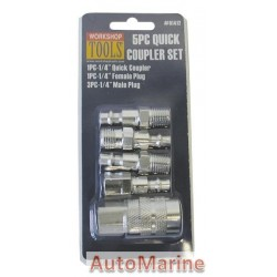 Quick Coupler Set - 5 Piece