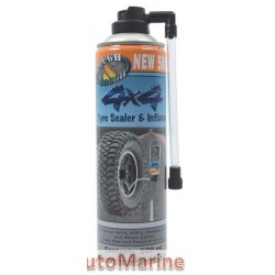 4x4 Tyre Sealer and Inflator - 450ml