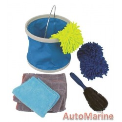 Car Cleaning Kit - 7 Pieces