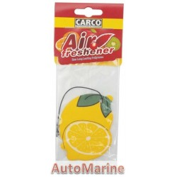 Car Perfume - Lemon - 10 Pieces