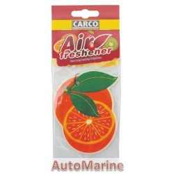 Car Perfume - Orange - 10 Pieces