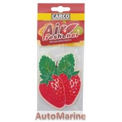 Car Perfume - Strawberry - 10 Pieces