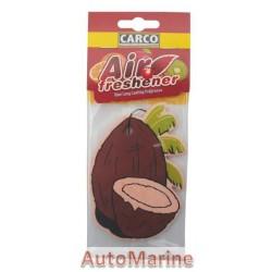 Car Perfume - Coconut - 10 Pieces