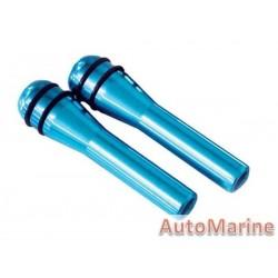 Door Lock Pins - Blue