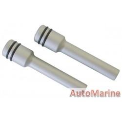 Door Lock Pins for VW - Silver