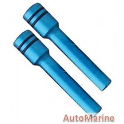 Door Lock Pins for VW - Blue