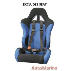 Racing Safety Harness - Black