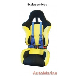 Racing Safety Harness - Blue