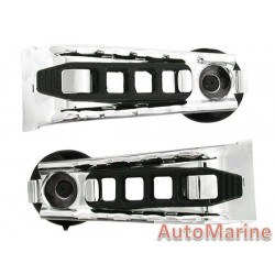 Heavy Duty Chrome Fishing Rod Carrier